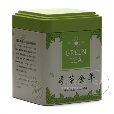 """Банка """"Зеленый чай"""" (жесть)"""